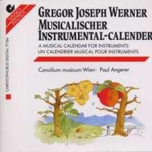 Gregor Joseph Werner (1695-1766): Musikalischer Kalender, 2 CDs