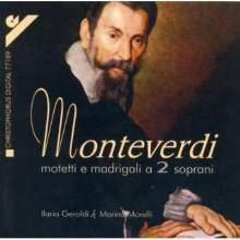 Claudio Monteverdi (1567-1643): Geistliche Vokalwerke, CD