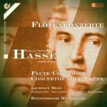 Johann Adolph Hasse (1699-1783): Flötenkonzerte in C,D,G,h, CD