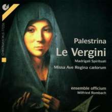 "Giovanni Pierluigi da Palestrina (1525-1594): Madrigali Spirituali ""La Vergini"", CD"