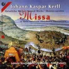 Johann Caspar Kerll (1627-1693): Missa in fletu solatium obsidionis Viennensis, CD