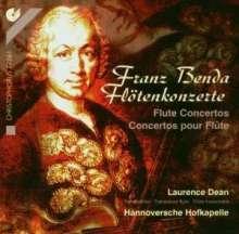 Frantisek Benda (1709-1786): Flötenkonzerte in e,G,A, CD