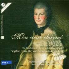 Sophie Erdmuthe von Nassau-Saarbrücken (1725-1795): Mon Coeur Charme - Liederbuch, CD