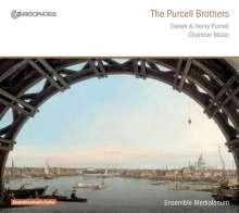 Daniel Purcell (1660-1717): Sonaten Nr.1,2,3,6, CD