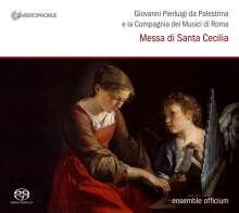Giovanni Pierluigi da Palestrina (1525-1594): Messa per Santa Cecilia, Super Audio CD