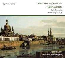 Johann Adolph Hasse (1699-1783): Flötenkonzerte C-Dur,D-Dur,G-Dur,h-moll, CD