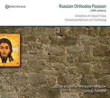Passion der russisch-orthodoxen Kirche, CD