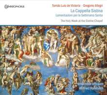 Tomas Louis de Victoria (1548-1611): Officium Hebdomadae Sanctae (Rom 1585), CD