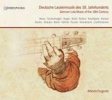 Alberto Crugnola - Deutsche Lautenmusik des 18.Jahrhunderts, 4 CDs