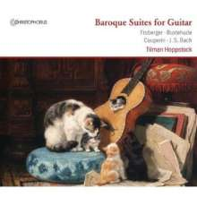 Tilman Hoppstock - Baroque Suites for Guitar, CD