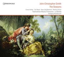 John Christopher Smith (1712-1795): The Seasons (Oratorium, London 1740), 2 CDs