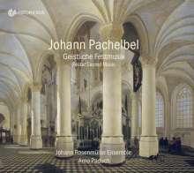 Johann Pachelbel (1653-1706): Geistliche Festmusik, CD