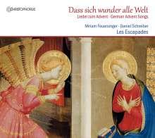 Dass sich wunder alle Welt - Lieder zum Advent, CD