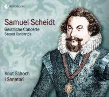 Samuel Scheidt (1587-1654): Concertus Sacri (Ausz.), CD