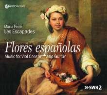 Flores espanolas - Musik für Gambenconsort & Gitarre, CD