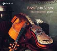 Johann Sebastian Bach (1685-1750): Cellosuiten BWV 1007,1008,1011 für Gitarre, CD