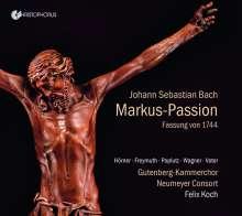 Johann Sebastian Bach (1685-1750): Markus-Passion nach BWV 247 (1744), CD