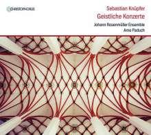 Sebastian Knüpfer (1633-1676): Geistliche Konzerte, CD