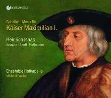 Heinrich Isaac (1450-1517): Geistliche Musik für Kaiser Maximilian I (1459-1519), 2 CDs