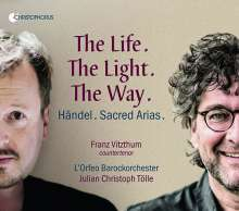 Georg Friedrich Händel (1685-1759): Geistliche Arien - The Life, the Light, the Way, CD