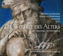 """Die Weisheit des Alters - """"Ars moriendi"""" im Minnesang, CD"""