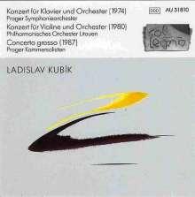 Ladislav Kubik (geb. 1946): Klavierkonzert, CD