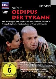 Carl Orff (1895-1982): Oedipus der Tyrann, DVD
