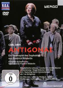 Carl Orff (1895-1982): Antigone (Tragödie von Sophokles), DVD