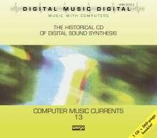 Computer Music Currents Vol.13, CD