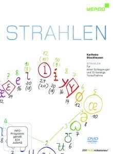 Karlheinz Stockhausen (1928-2007): Strahlen für Schlagzeug & 10-kanalige Tonaufnahme, DVD
