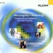 Modest Mussorgsky (1839-1881): Bilder e.Ausstellung (Klavierkonzertfassung), CD