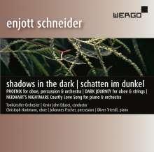 """Enjott Schneider (geb. 1950): Werke """"Shadows in the Dark / Schatten im Dunkel"""", CD"""