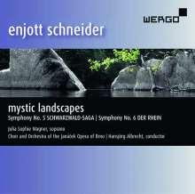 "Enjott Schneider (geb. 1950): Orchestermusik ""Mystic Landscapes"", CD"