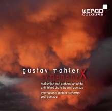 Gustav Mahler (1860-1911): Symphonie Nr.10 (Fassung nach Gamzou), CD