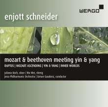 "Enjott Schneider (geb. 1950): Orchesterwerke ""Mozart & Beethoven meeting yin & yang"", CD"