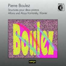 Pierre Boulez (1925-2016): Structures pour deux pianos, CD