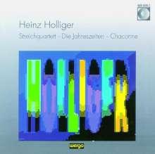 Heinz Holliger (geb. 1939): Streichquartett, CD