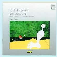 Paul Hindemith (1895-1963): Lustige Sinfonietta op.4, CD
