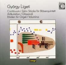 György Ligeti (1923-2006): 10 Stücke f.Bläserquintett, CD