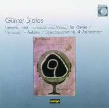 Günter Bialas (1907-1995): Streichquartett Nr.4, CD
