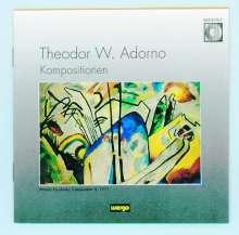 Theodor W. Adorno (1903-1969): Werke, CD