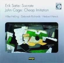 John Cage (1912-1992): Cheap Imitations f.Klavier, CD