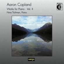 Aaron Copland (1900-1990): Klavierwerke Vol.2, CD