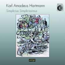 Karl Amadeus Hartmann (1905-1963): Simplicius Simplicissimus, 2 CDs