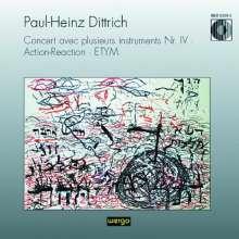 Paul Heinz Dittrich (1930-2020): Concert avec plusieurs Instruments Nr.IV, CD