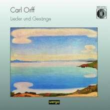 Carl Orff (1895-1982): Lieder & Gesänge, CD