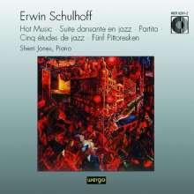 Erwin Schulhoff (1894-1942): Jazz-inspirierte Klaviermusik, CD