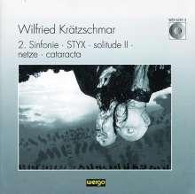 "Wilfried Krätzschmar (geb. 1944): Symphonie Nr.2 ""Explosionen & Cantus"", CD"
