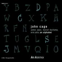 John Cage (1912-1992): James Joyce,Marcel Duchamp,Erik Satie: An Alphabet, 2 CDs