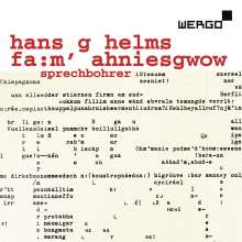 Hans G Helms (geb. 1932): Experimentelle Sprach-Komposition, 2 CDs